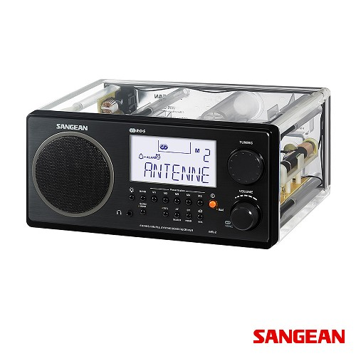 FM Stereo RBDS AM Digital Tuning Portable Receiver Clear | Sangean