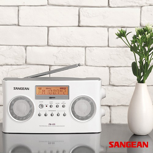 FM Stereo RBDS AM Digital Tuning Portable Receiver | Sangean