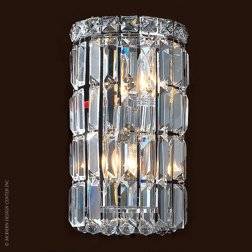 Cascade Wall Sconce W23510C6 | Worldwide Lighting