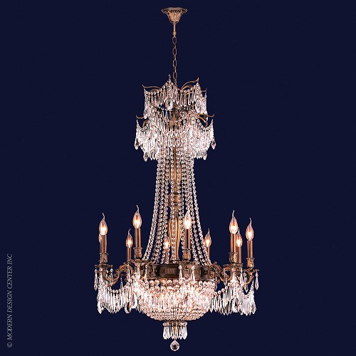 Winchester Chandelier W83356B30-CL | Worldwide Lighting
