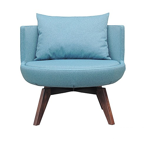 Round Lounge Woody Chair | B&T