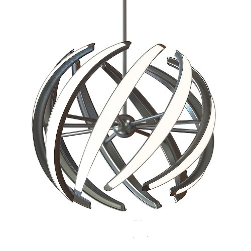 Swirl 23-inch LED Pendant Light | Blackjack Lighting