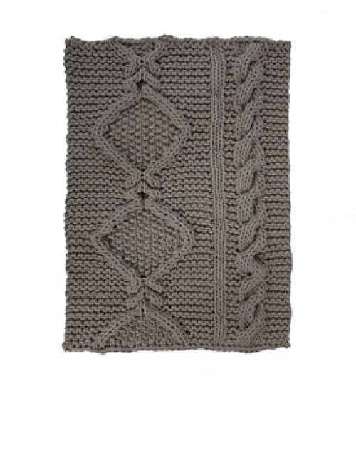 t.e. 089.090 Aran Rug Light Gray | Thomas Eyck