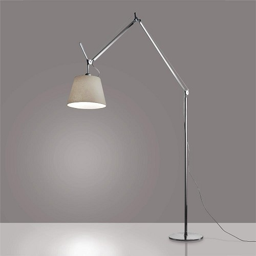 Tolomeo Mega LED Floor Lamp with Parchment Shade | Artemide