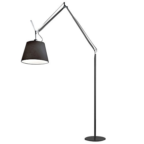 Tolomeo Mega LED Floor Lamp Black | Artemide